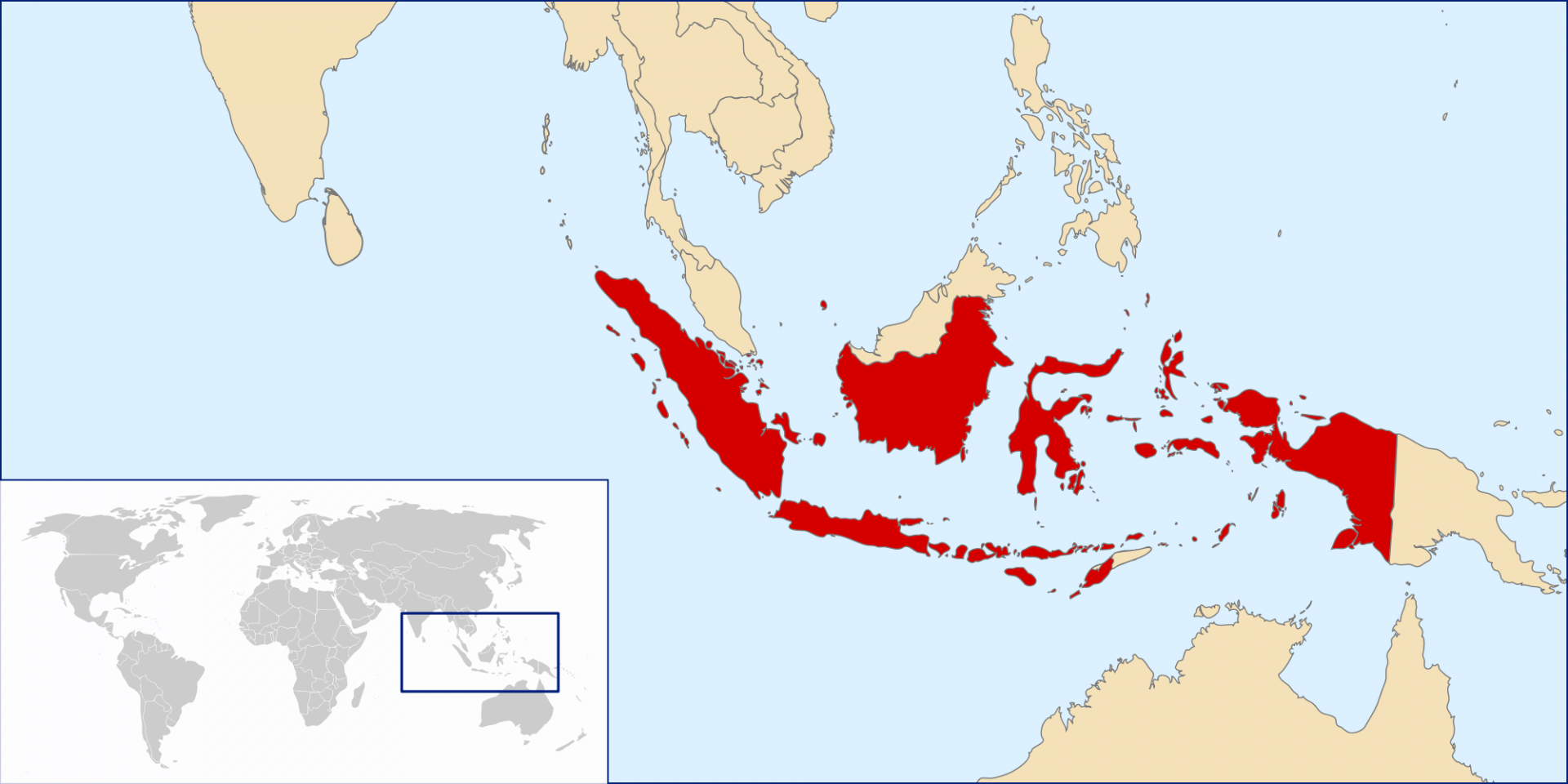 Where is Bali Located in Indonesia & Where Situated on a World Map