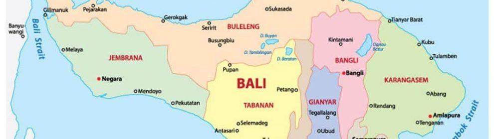 Bali map indonesia world map tourist attractions in kuta surf gumiabroncs Images