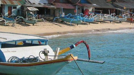 Padang Bai Fishing Village