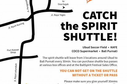 Spirit Shuttle Map